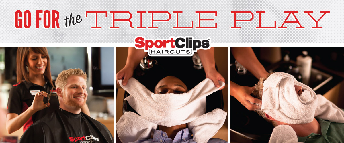 The Sport Clips Haircuts of Clarence  Triple Play